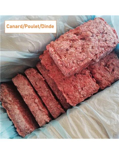 RAW Canard/Poulet/Dinde 4kg