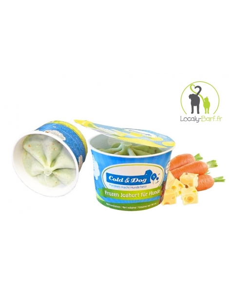 Glace Fromage / Carotte - Pot 90ml