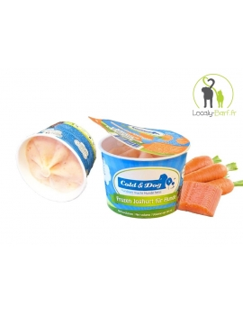 Glace Saumon / Carotte - Pot 90ml