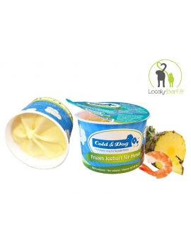 Glace Crevette / Ananas - Pot 90ml