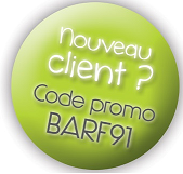 Code Promo 1ère commande Localy-Barf.fr