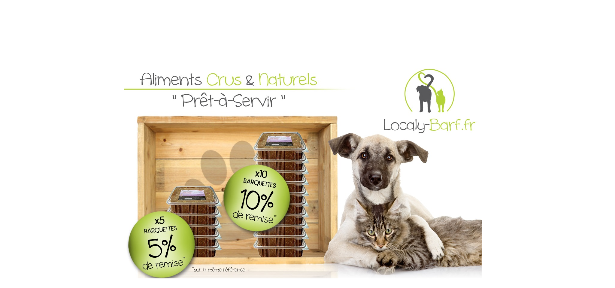 Repas complets Prêts à Servir pour chiens et chats